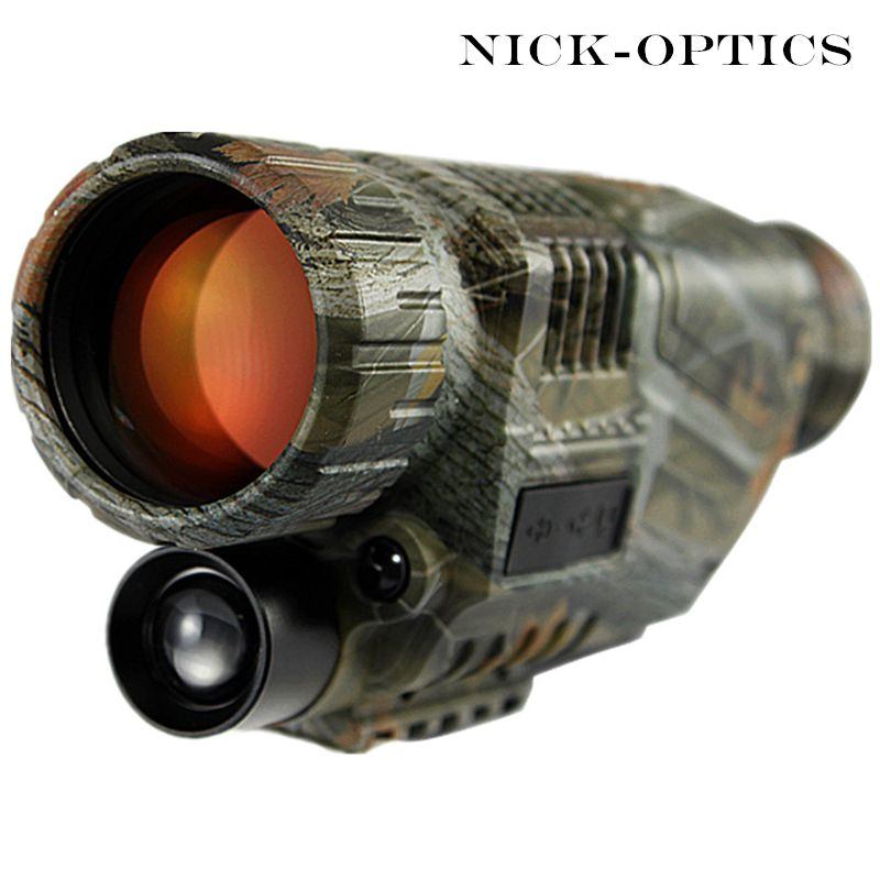 2018 taktische Infrarot Nachtsicht Teleskop Military Digital Monokulare HD Leistungsstarke Waffe Anblick Nacht-Vision Monocular Jagd