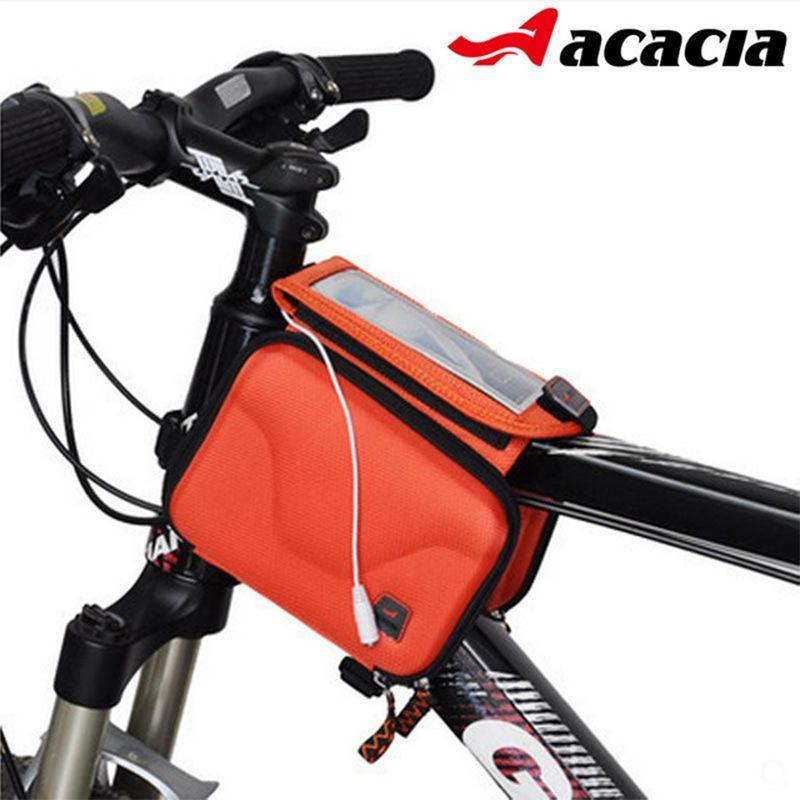 Étanche Vélo Avant Tube Sacs Écran Tactile Montagne Vélo De Route Haut Avant Tube Cadre Sac de Selle du Vélo Vélo Équipement