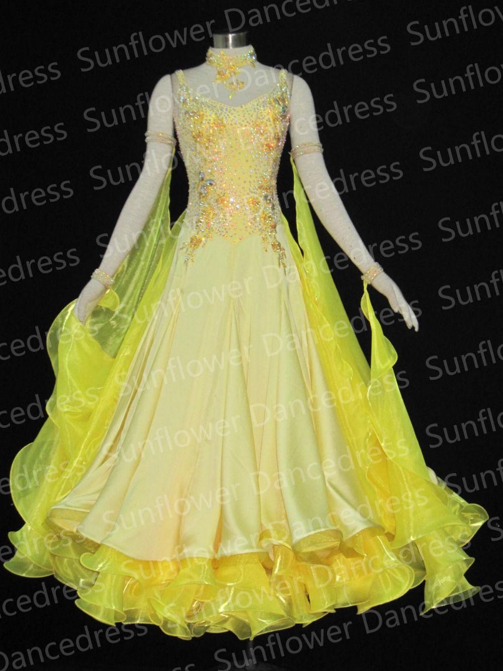 Moderne Walzer Tango Ballroom Dance Kleid, Glatte Ballsaal Kleid, Standard Ballsaal Kleid, ballsaal tanzen kleid