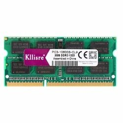 Kllisre DDR3 4 GB 8 GB 1333 Mhz 1600 Mhz SO-DIMM Portable RAM 204Pin Mémoire D'ordinateur Portable