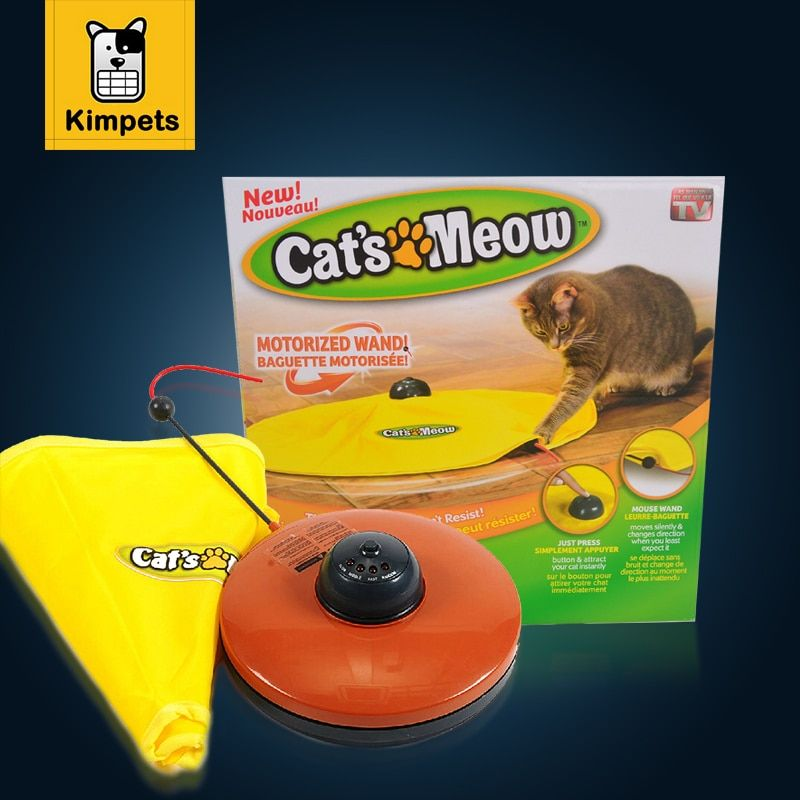 Cat Toy Undercover Nylon Fabric Moving Mouse Interactive <font><b>Play</b></font> Meow Cat Toy for Cat Kitty Funny Luxury Creative Pet Puppy Toy