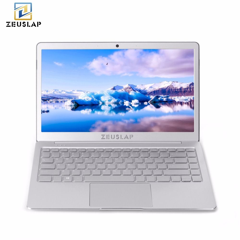 ZEUSLAP 8 gb Ram + 512 gb SSD Quad Core CPU Windows 10 System 13,3 zoll 1920*1080 p Volle HD IPS Ultradünne Laptop Notebook Computer
