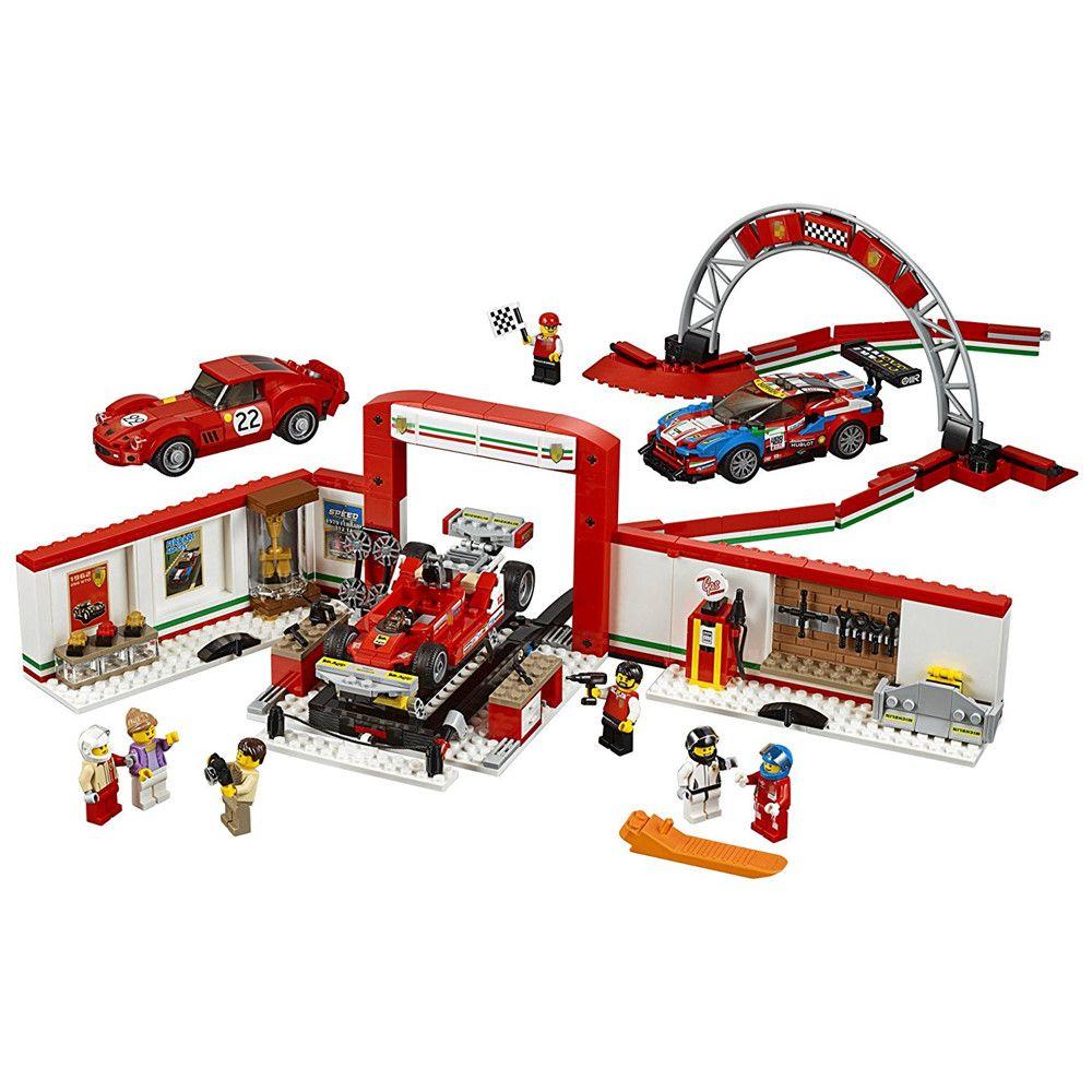 City SPEED CHAMPIONS Ultimate Garage Building Blocks kits Bricks Sets Classic Model Kids Toys Gift Compatible Legoe