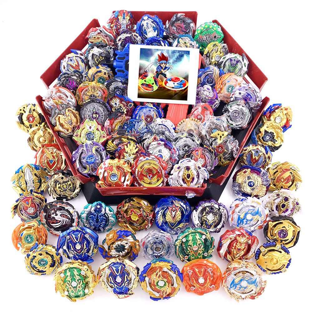 All Tops Set Launchers Beyblade GT God Bey blade blades Burst High Performance Battling Top Toys For Kids Bables Bayblade