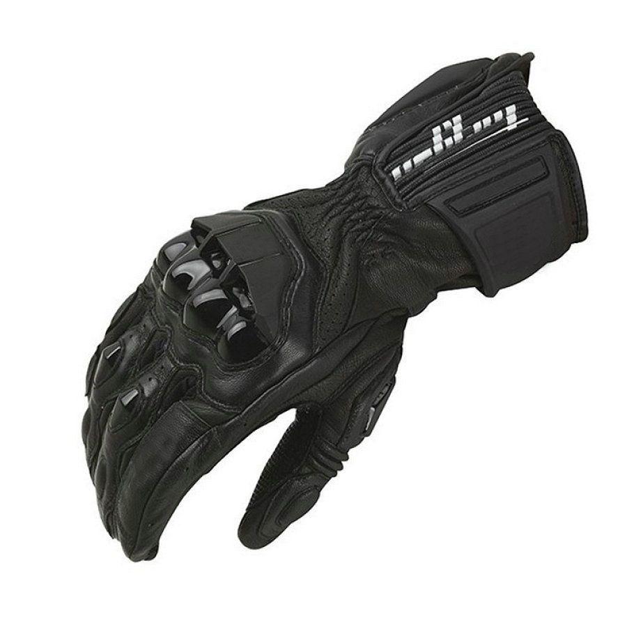 Gants de Moto d'hiver coupe-vent Furygan AFS18 gants de course à doigt complet Motocross Luvas en cuir véritable Moto Guantes