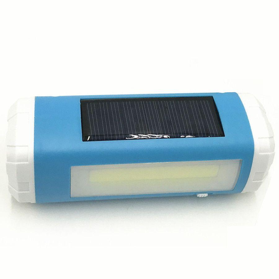 Outdoor Mini Solar USB LED Flashlight / side lights + Bluetooth audio TF card player +LED Lighting