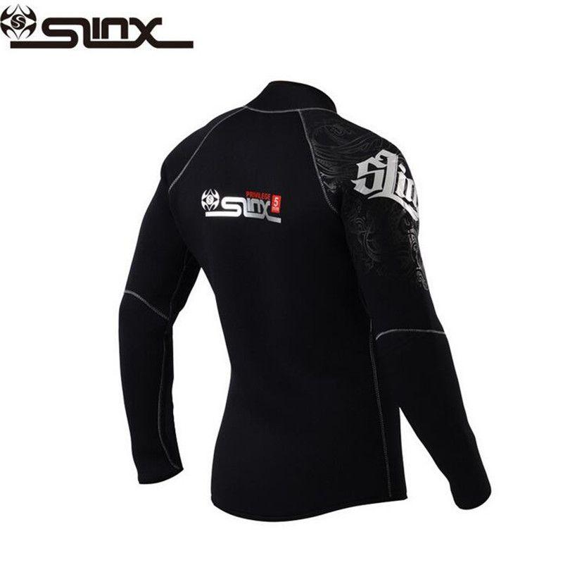 SLINX 5mm Neopren Dive Jacke Neoprenanzug Für Frauen Männer Surfen Windsurfen Bademode Waterski Wasser Handwerk Bootfahren Nass Anzug
