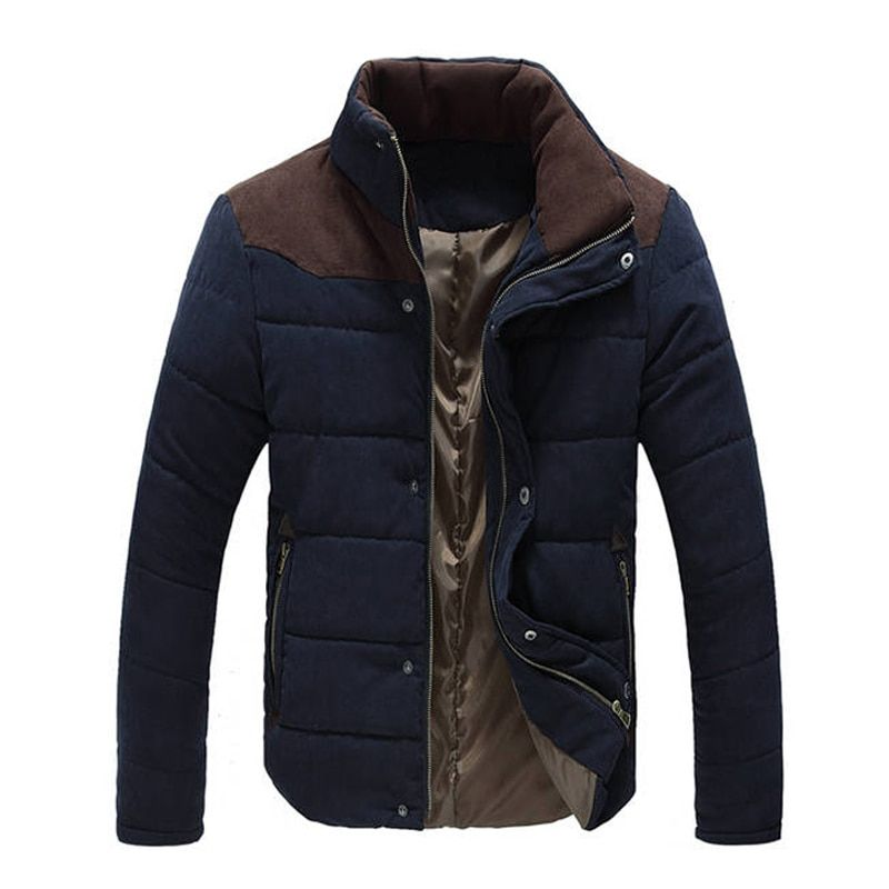 New Jacket Men 2018 Hot Sale Thick High Quality Autumn Winter Warm Outwear Brand Coat Casual Solid Male Windbreak Jackets M-3XL