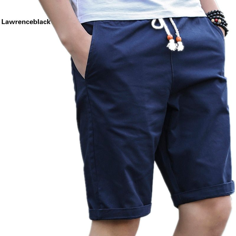 Summer Cotton Shorts Men Fashion Brand Boardshorts Breathable Male Casual Shorts Comfortable Plus Size Cool Short Masculino 208