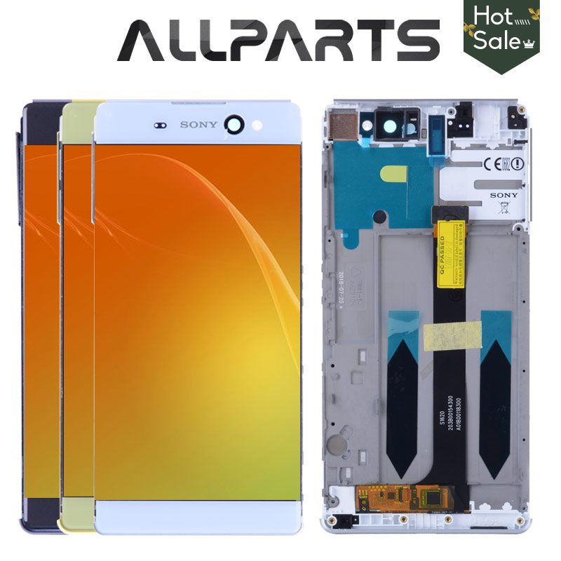 Original 6.0 IPS LCD For SONY Xperia C6 XA Ultra LCD Display F3211 F3212 Touch Screen Digitizer Replacement Parts