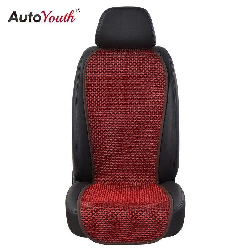 AUTOYOUTH 1PCS Summer Breathable Car Seat Cover Universal Seat Cushion Protector 4 Colored Car-Styling Interior Accessories