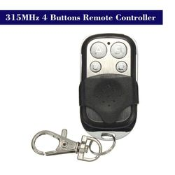 315MHz Copy Cloning Duplicator Remote Control Transmitter Switch for Garage Opener Electric Garage Door Remote Control Key Fob
