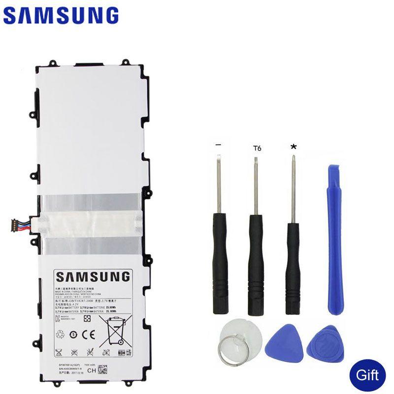 SAMSUNG Original Spare Battery SP3676B1A For Samsung Galaxy Tab Note 10.1 N8000 N8010 N8020 P7510 P7500 P5100 Tablet 7000mAh