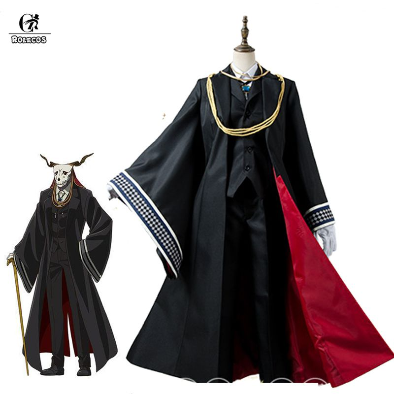 ROLECOS Anime The Ancient Magus Bride Cosplay Costumes Elias Cosplay Costumes Halloween Party Anime Mahoutsukai no Yome