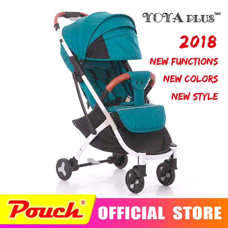 YOYAPLUS 2018 New Style baby stroller light folding umbrella car can sit can lie ultra-light portable on the airplane