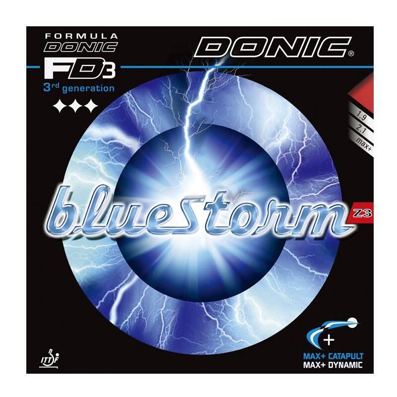 DONIC BLUESTORM (BlueStorm Z1/Z2/Z3) Tennis De Table Ping-Pong En Caoutchouc Éponge Tenis De Mesa