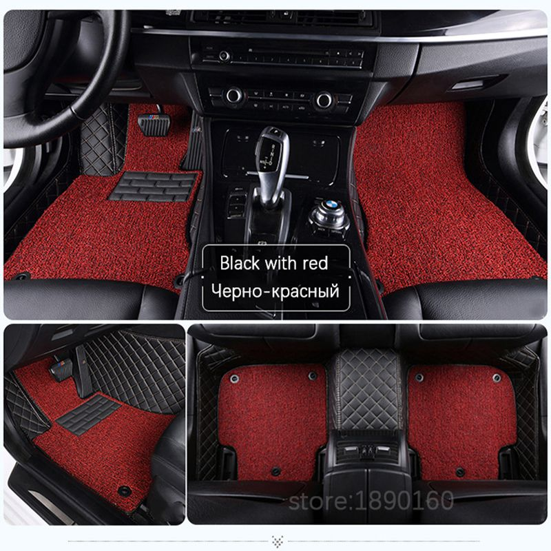 Custom car floor mats for Chery All Models A1/ 3/5 Tiggo Cowin Fulwin Riich E3 E5 QQ3 6 V5 Tiggo X1 car styling floor mat