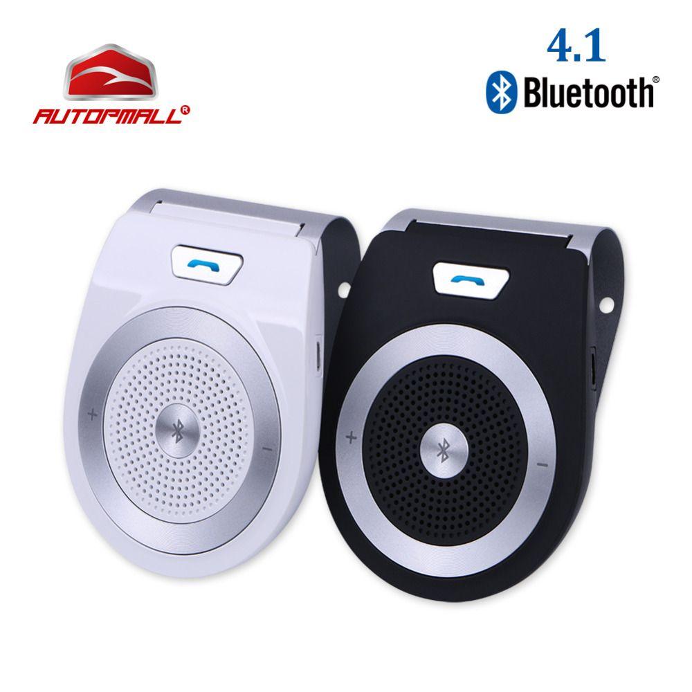 2017 Car Bluetooth Kit T821 <font><b>Handsfree</b></font> Speaker Phone Support Bluetooth 4.1 EDR Wireless Car Kit Mini Visor Can Hands Free Calls