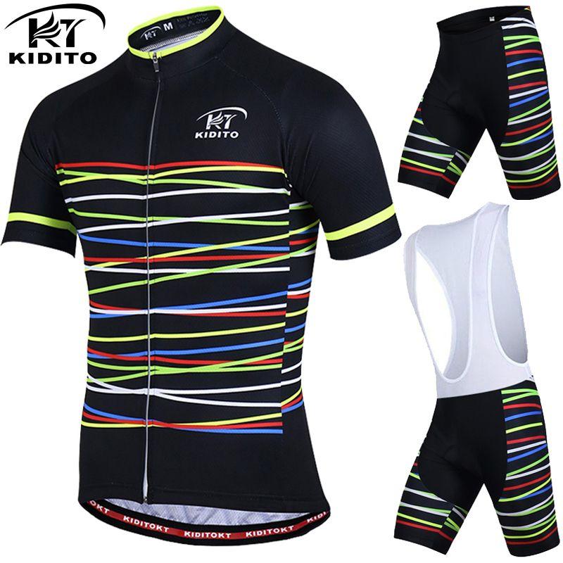 KIDITOKT vêtements de cyclisme Pro respirants ensembles de cyclisme vêtements de vélo de montagne ensemble de maillot de cyclisme vélo vtt vêtements de sport