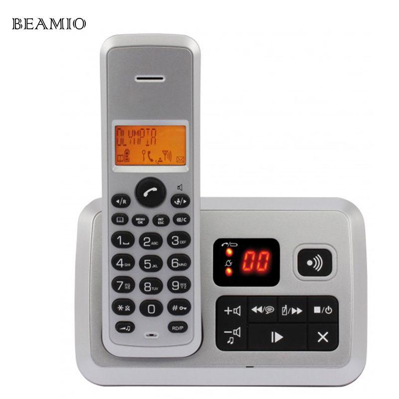 Bunte Anruf-id Antwort Telefon Digitale Schnurlose Telefon Für Home Office Business Wireless Telefon Telefone Sem Fio
