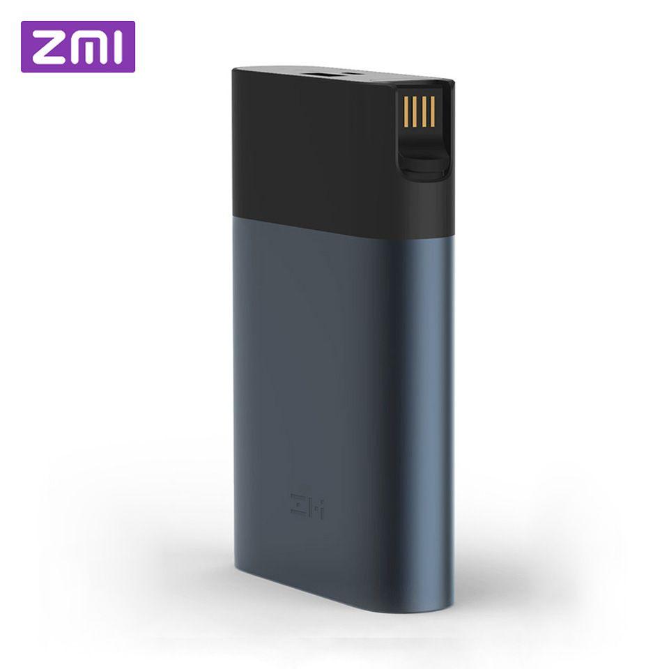 Original Xiaomi ZMI 4g Wifi Router 10000 mah Power Bank 3g 4g LTE Mobile Hotspot 10000 mah QC 2,0 Schnell Ladung Batterie Power