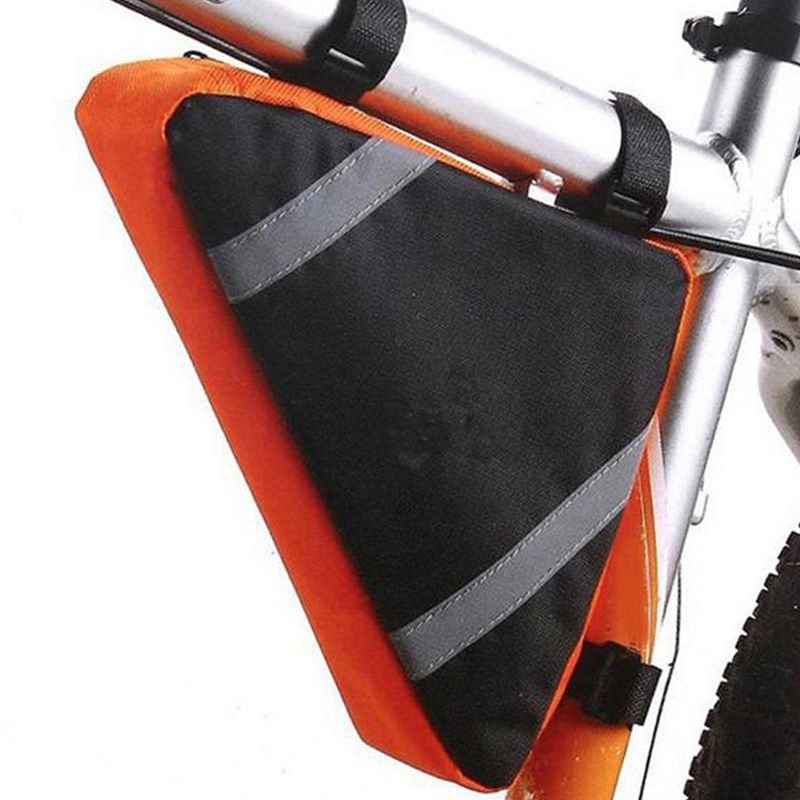 Mountain Bicycle Bike Bag Front Frame PVC Tube Triange Bag Cycling Bicycle Bag Outdoor Accessories Bicicleta BG0012