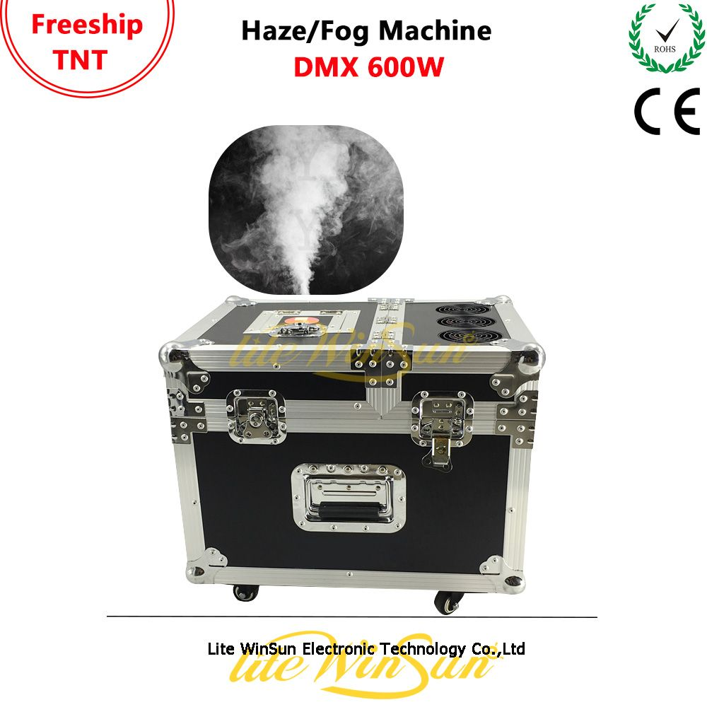 Litewinsune 600W Pro Tour Hazer Stage Lighting Oil Based Fazer Haze Machine Area Effect Haze Machine with DMX 1Channel
