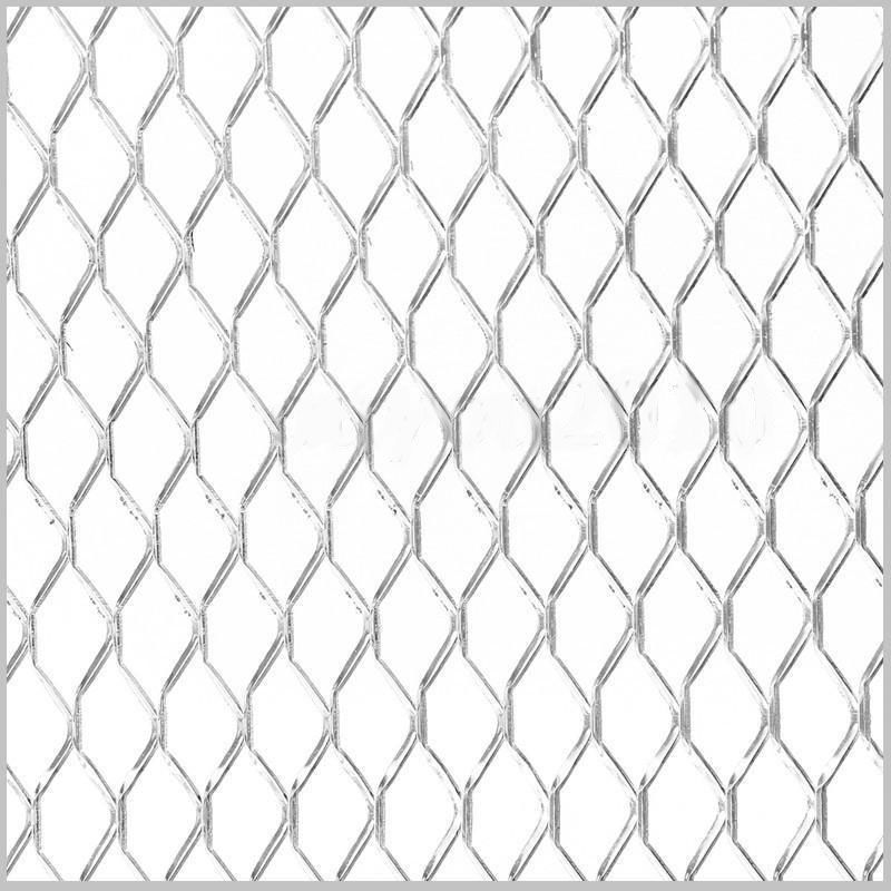 Universal Aluminum Car Vehicle Body Grille Net Mesh Grill Section Auto Exterior Racing Grill 100*33cm Silver