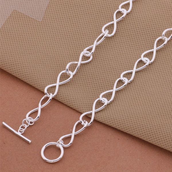 AN472 Wholesale silver plated Necklaces for women silver 925 jewelry fashion jewelry pendant  /bhuajzba asqajjxa