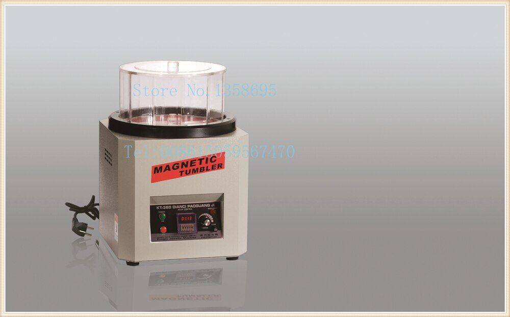 Schmuck graviermaschine, Super Magnetic Tumbler, schmuck Poliermaschine, schmuck Machen Werkzeuge, diamant magnetische polierer