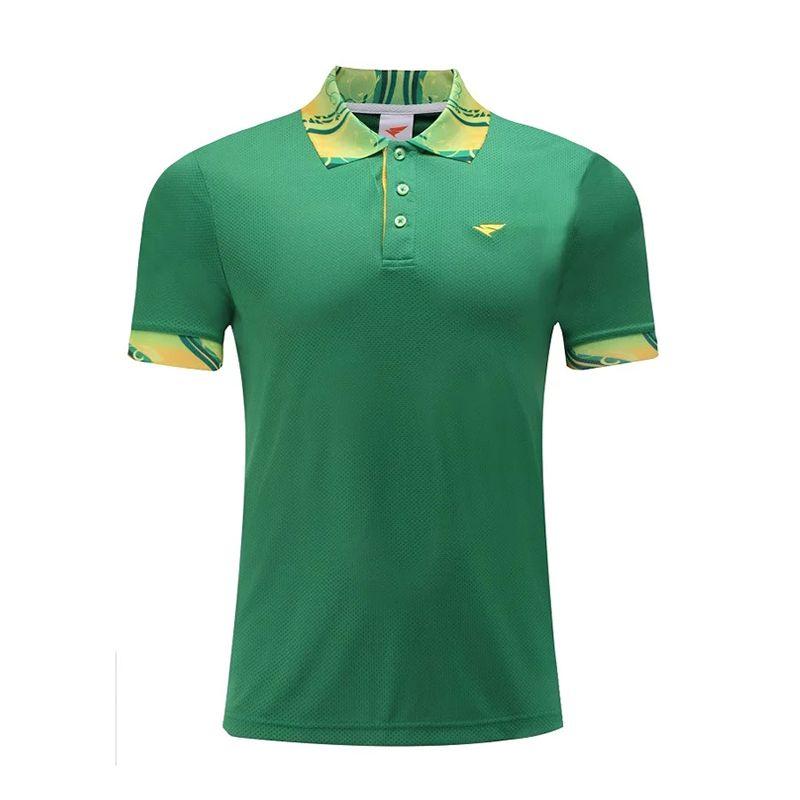 Alta Calidad Camisa de Polo de Ropa de Golf de Golf de Secado rápido Hombres Sportwear Deportes Ocio Camiseta Da Vuelta-abajo Transpirable ropa