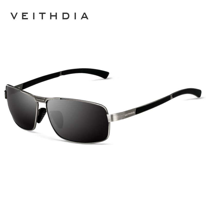 VEITHDIA Brand Men's Sunglasses Polarized Sun Glasses oculos de sol masculino Eyewear Accessories For Men 2490
