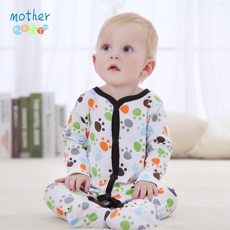 Bébé vêtements 2016 nouveau bébé fille nouveau-né vêtements barboteuse à manches longues combinaisons bébé produit, bébé barboteuses été garçon