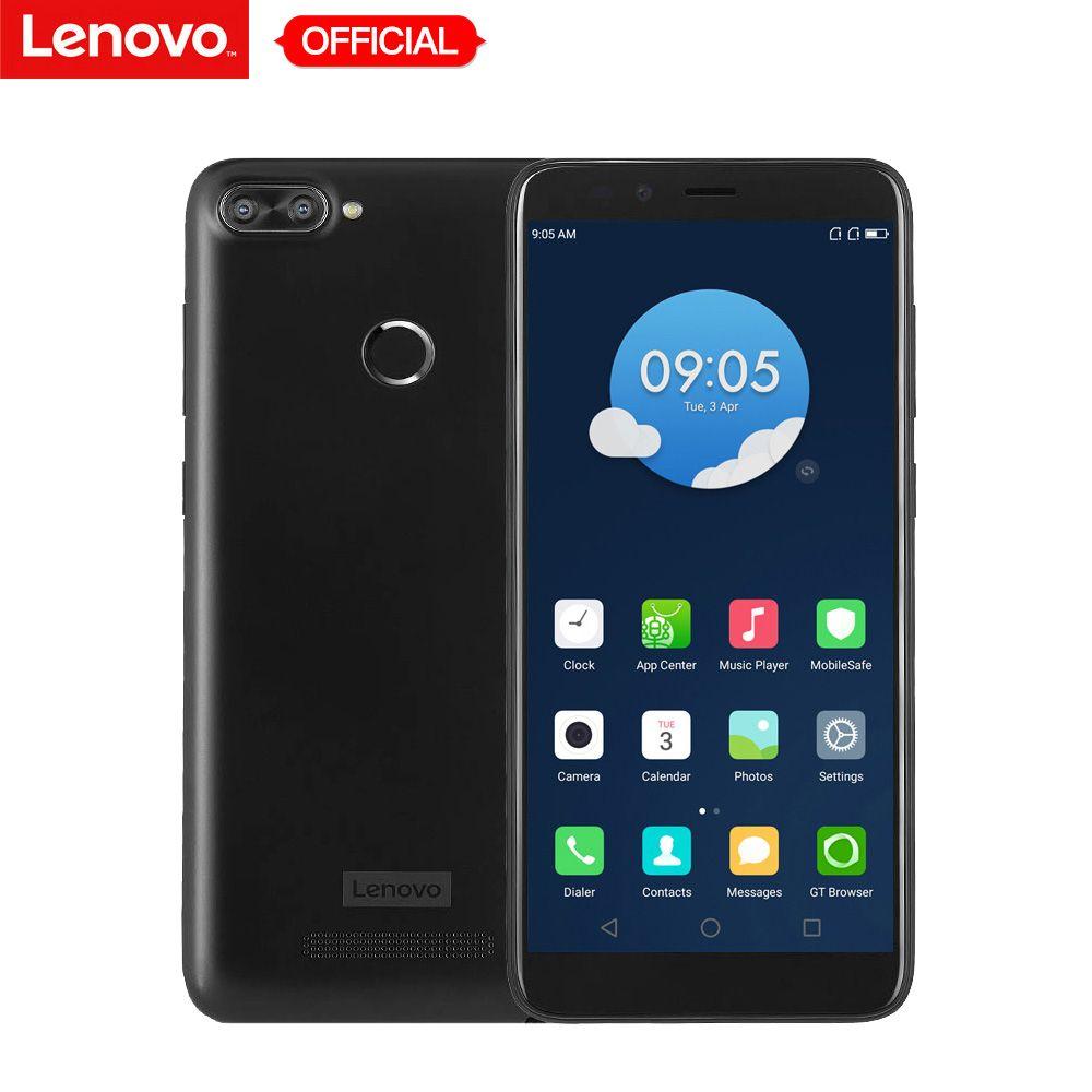 Lenovo K320t 2GB RAM 16GB ROM 18:9 Full Screen Mobile Phone Quad Core 5.7'' Android 7.0 Dual Rear Camera 8MP+2MP LTE Smartphone