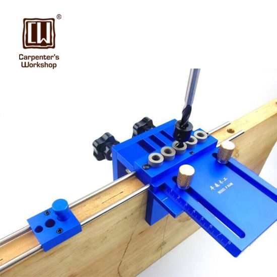 High Precision Dowelling Jig With 5 Metric Dowel Holes(6mm,8mm,10mm)Woodworking Joinery