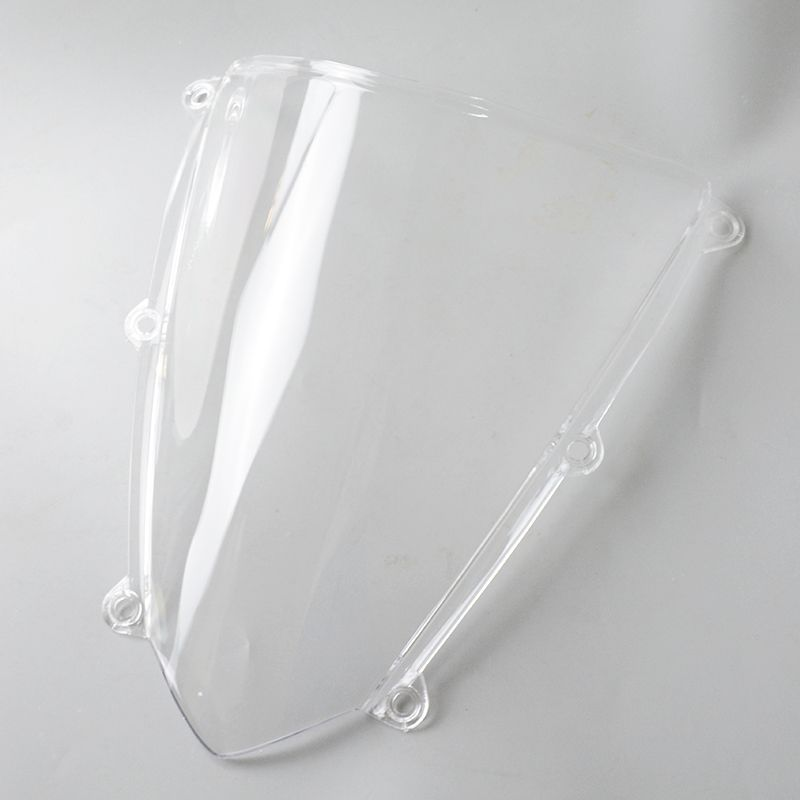For Honda CBR 600 RR F5 2007 2008 2009 2010 2011 2012 White Windshield WindScreen cbr 600 f5 CBR600 cbr600 CBR600RR 600RR Clear