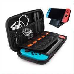 All in One For Nintendo Switch Starter Kit case Accessories Carrying Case JoyCon Covers Protective Travel Carry Shell