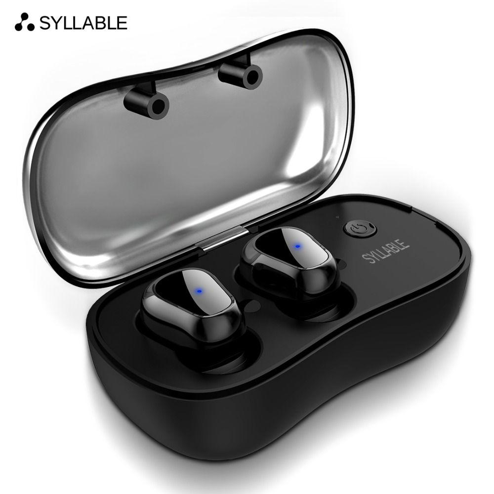 SILBE D900P TWS Bluetooth V5.0 Kopfhörer für Telefon HD Kommunikation Tragbare Wahre Wireless Stereo Ohrhörer Wasserdichte Kopfhörer