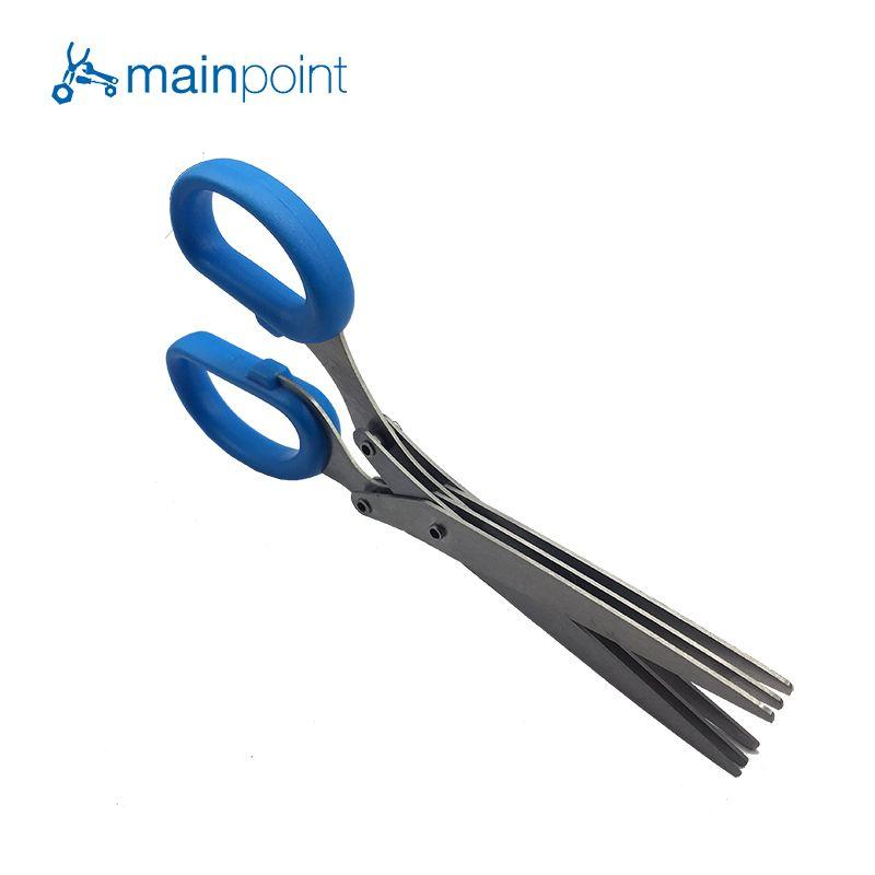 Mainpoint 3 Schichten Klinge Scallion Schere Küche Geschreddert Messer Multifunktionale Obst Gemüse Cut Herb Gewürze Kochen Werkzeuge