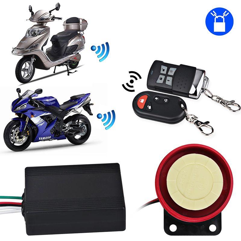 Fernbedienung Alarm Motorrad Anti-diebstahl-sicherheit Alarmanlage Diebstahl Schutz Alarm Motorrad Sicherheit Für Honda Yamaha
