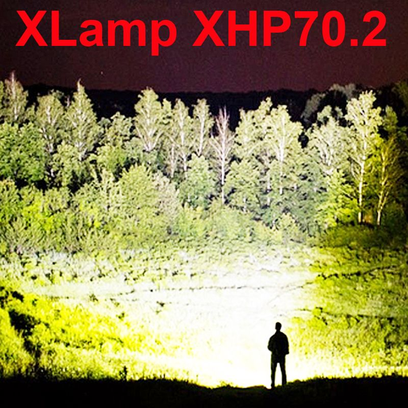 led flashlight 90000 lumens xhp70.2 most powerful flashlight 26650 usb torch xhp70 xhp50 lantern 18650 hunting lamp hand light