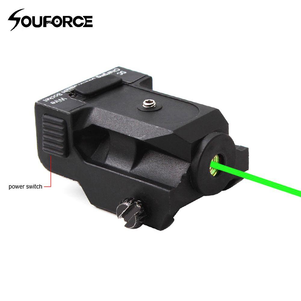 Hochwertigen Taktischen Wiederaufladbare Metall Grüner Laser-anblick Ranger 50-100 mt für 20mm Schieneneinfassungen in jagd