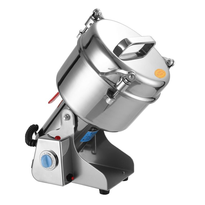 Grinder 2500g Large-scale Crusher Household Steel Mill Commercial Powder Machine Ultra-fine Grinding Machine Stainless Mill