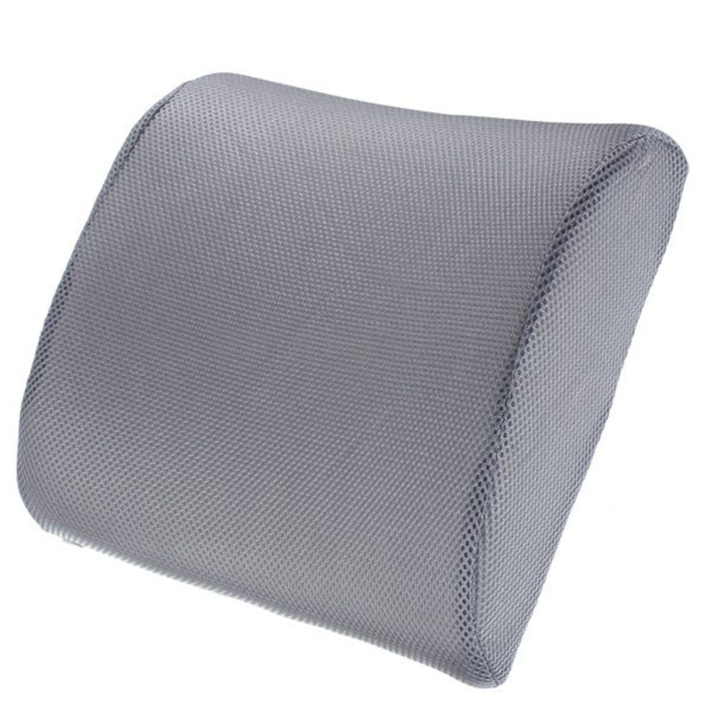 Memory Foam Lumbar Back Support Cushion Relief for Office Home Car Auto Travel Booster Seat Chair For Home Office Or Car cushion