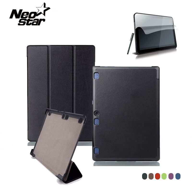 Pour Lenovo Tab 2 A10 70F Housse En Cuir Pour Tab2 A10-70 70 A10-70F A10-70L A10-30 X30F Tablette 10.1 ''Protecteur D'écran + Stylo
