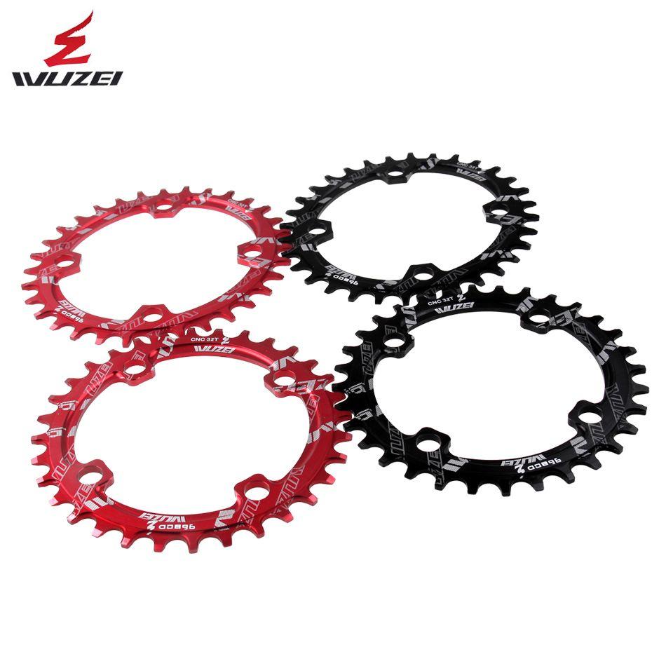 WUZEI 96BCD rond/ovale 32/34/36/38T vtt VTT chaîne de vélo pour shimano ALIVIO M672 M782 M4000 M4050 GX manivelle