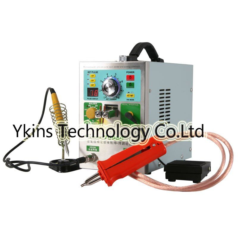 709AD+ LCD display 18650 battery spot welder machine 4 IN 1 Welding machine fixed pulse welding constant temperature solderin