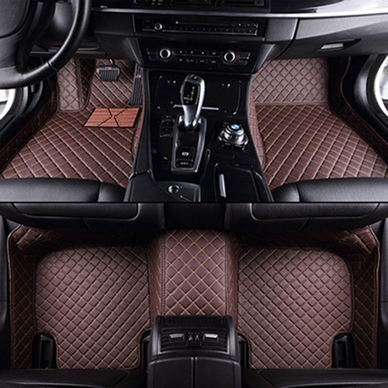 Custom car fußmatten für Lifan Alle Modelle x60 x50 320 330 520 620 630 720 auto zubehör auto styling bodenmatte