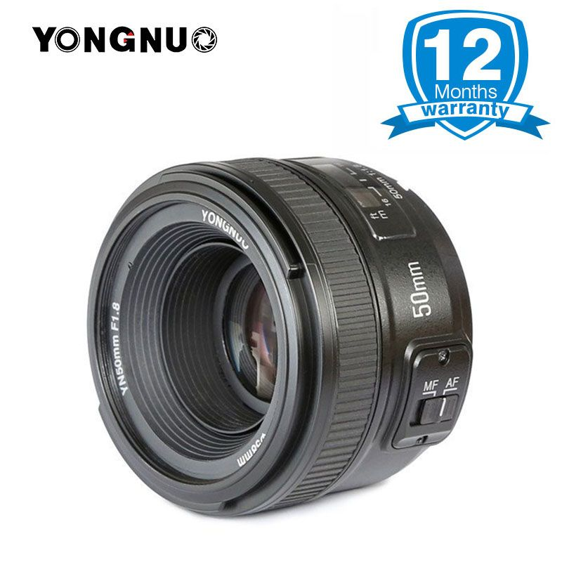 YONGNUO YN50mm F1.8 Large Aperture Auto Focus Lens for Nikon D800 D300 D700 D3200 D3300 D5100 D5200 D5300 DSLR Camera Lens