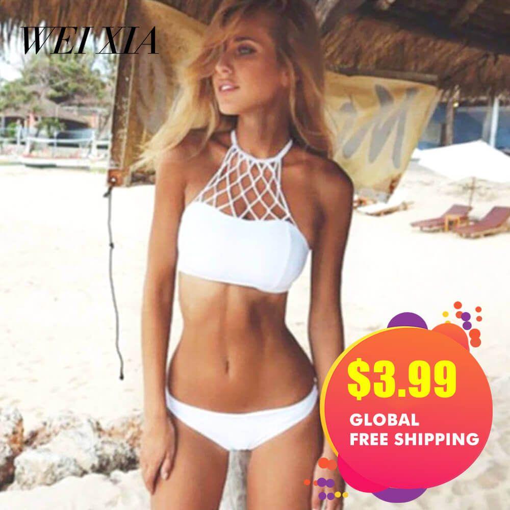 Weihnachtsgeschenk WEIXIA Womens Gepolsterte Push-Up Bikini Set Badeanzüge Zwei Stücke Badeanzug
